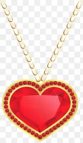 Gold Locket Cliparts - Charms & Pendants Necklace Locket Jewellery Clip Art PNG