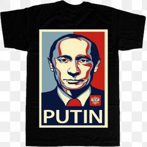 Vladimir Putin - Vladimir Putin T-shirt Hoodie Sleeve PNG