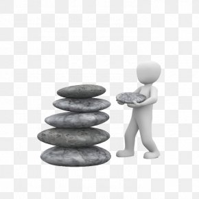 Stack Stone Man - Meditation Zen Stock.xchng Illustration PNG