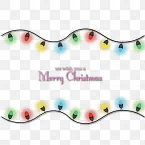 Merry Christmas Lights - Christmas Lights Light-emitting Diode PNG