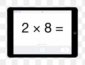 Multiplication - Flashcard Mathematics Multiplication Subtraction Addition PNG