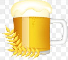 Wheat Brewing Beer - Beer Glasses Mug Clip Art PNG
