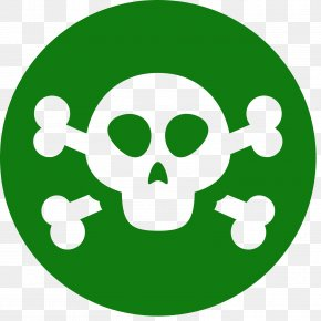 Symbol - Hazard Symbol Skull And Crossbones Logo PNG
