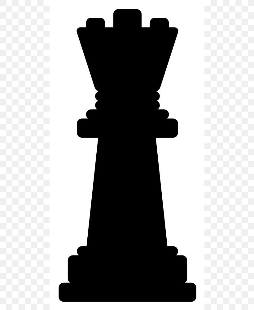 Chess Piece Queen King Clip Art, PNG, 500x1000px, Chess, Bishop, Black And White, Brik, Chess Piece Download Free