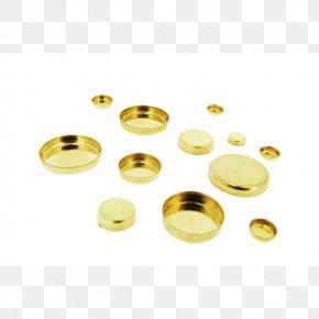 Round Bezel - Gold-filled Jewelry Metal Bezel Brass PNG