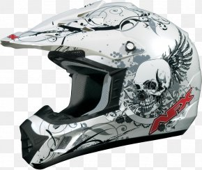 Motorcycle Helmets - Motorcycle Helmets Bicycle Helmets Motocross PNG