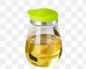 Thick Glass Peanut Oil Bottle - Peanut Oil Essential Oil Bottle PNG