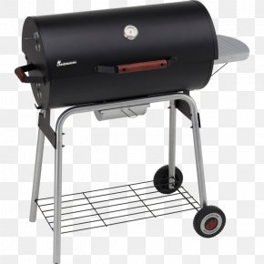 Barbecue - Barbecues And Grills Grilling Landmann Taurus 440 Charcoal BBQ BBQ Smoker PNG