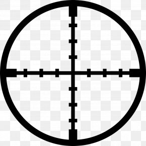Crosshairs - Reticle Telescopic Sight Clip Art PNG