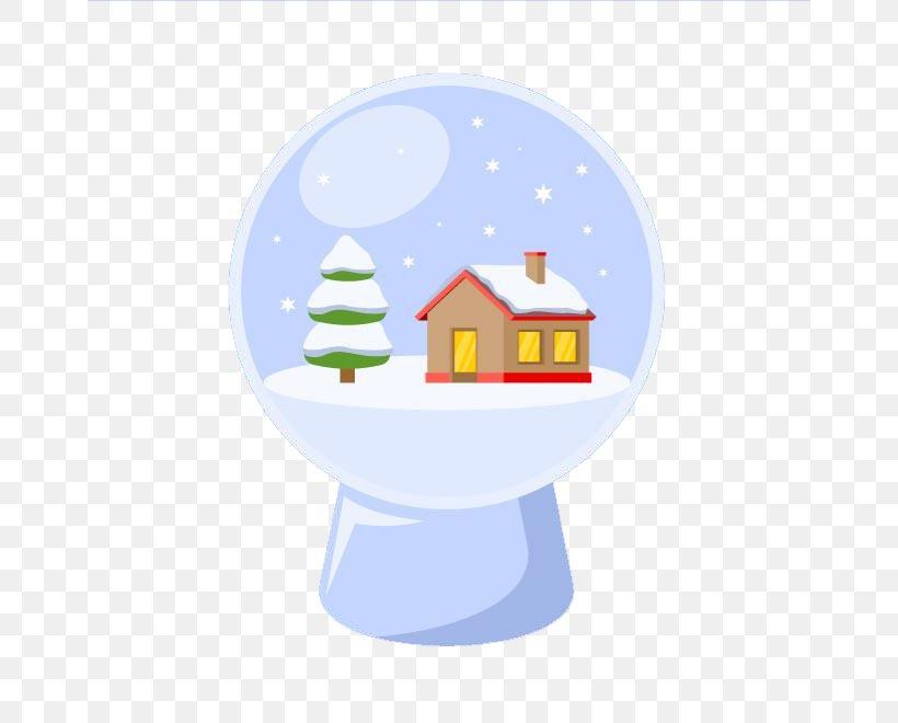 Crystal Ball Santa Claus Christmas Day Vector Graphics Image, PNG, 660x660px, Crystal Ball, Ball, Christmas Day, Christmas Tree, Crystal Download Free