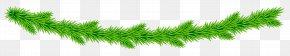 Garland - Grasses Plant Stem Line Font PNG