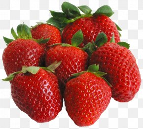 Large Strawberries Clipart - Strawberry Fruit Clip Art PNG
