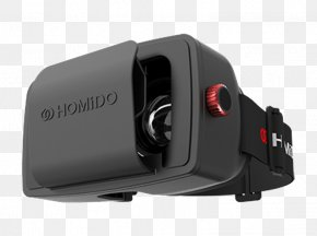 Homido Virtual Reality Headset - Samsung Gear VR Oculus Rift Head-mounted Display Virtual Reality Headset PNG
