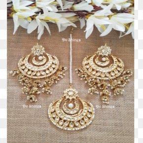 Jewellery - Earring Kundan Jewellery Costume Jewelry Gold PNG