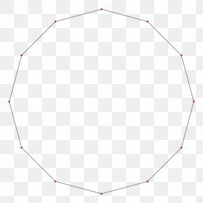 Polygon - Tetradecagon Regular Polygon Triangle Circle PNG