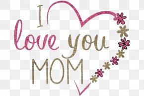 Magenta Plant - I Love You Mom PNG