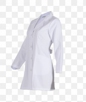 Lab Coat - Lab Coats Clothes Hanger Sleeve Jacket Outerwear PNG