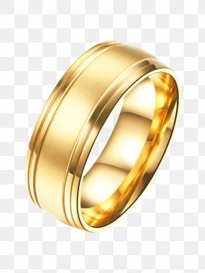 Ring Finger - Earring Jewellery Gold Wedding Ring PNG