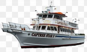 Boat - Captree State Park Boat Fishing Vessel Ship Watercraft PNG