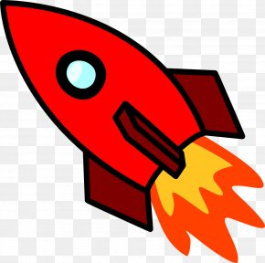 Red Rocket - Rocket Launch Spacecraft National Primary School Clip Art PNG