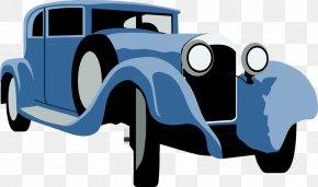 Vintage Car Illustrations - Sports Car Classic Clip Art Classic Car Clip Art PNG