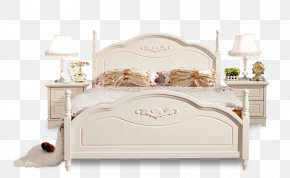 Bed - Bed Frame Furniture Bed Sheet PNG