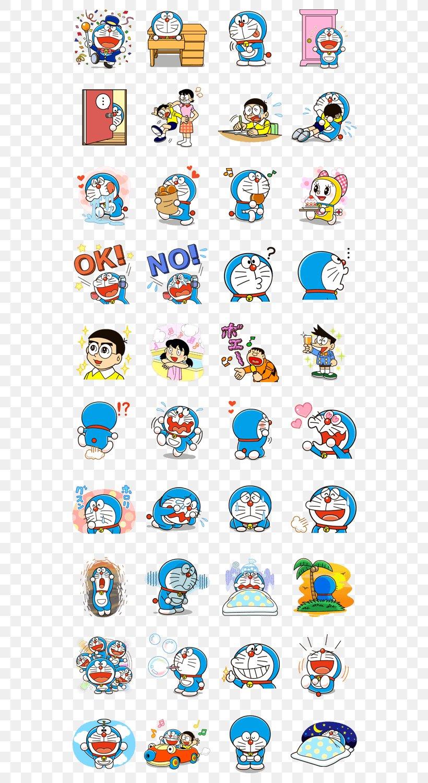 Doraemon Sticker Shizuka Minamoto Nobita Nobi Dorami PNG