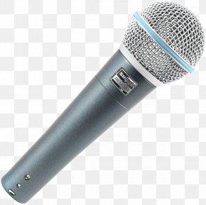 Mic - Microphone Shure SM58 Audio Shure Beta 58A PNG