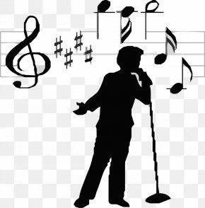 Sing - Singer-songwriter Singing Clip Art PNG
