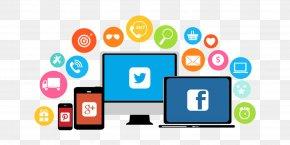 Digital Marketing - Social Media Marketing Social-Media-Manager Management PNG