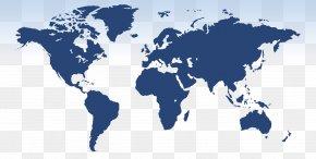 World Map - United States World Map Globe PNG