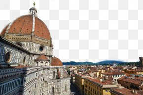 Florence, Italy, Five - Florence Cathedral Palazzo Vecchio Giottos Campanile Rome Fiesole PNG