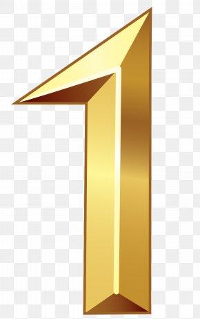 Number Gold Clip Art - Number Clip Art PNG