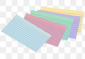 Index Cliparts - Paper Index Card Card Stock Business Card Library PNG