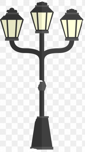 Winter Street Lights - Street Light Light Fixture Icon PNG
