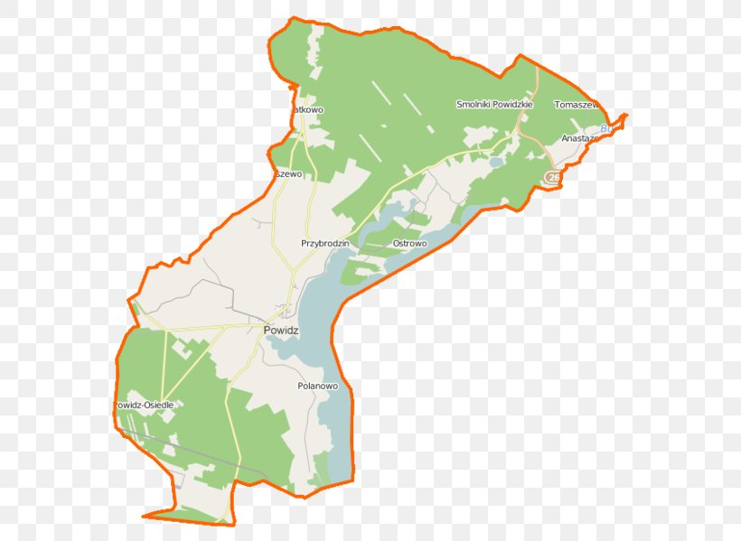Powidz, Greater Poland Voivodeship Przybrodzin Anastazewo Wylatkowo Charbin, Poland, PNG, 603x599px, Landscape Park, Area, Ecoregion, Greater Poland Voivodeship, Map Download Free