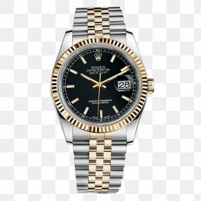 Rolex Watch Watches Black Male Table - Rolex Datejust Rolex Submariner Watch Rolex Daytona PNG