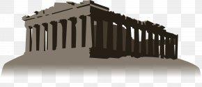 Greek Parthenon - 80 Days Jean Passepartout Around The World In Eighty Days Architecture Column PNG