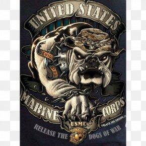Military - Devil Dog United States Marine Corps Marines Semper Fidelis Military PNG