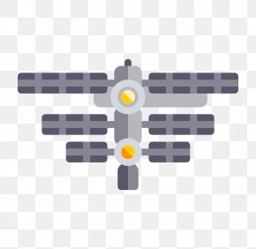 Creative Space Station - International Space Station Satellite Icon PNG