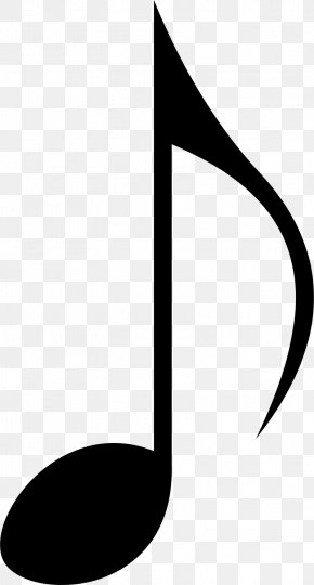 Eighth Note - Musical Note Clip Art PNG
