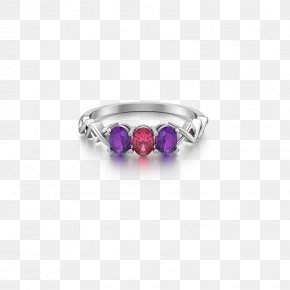 Ring Jewelry - Ruby Silver Body Jewellery Jewelry Design PNG