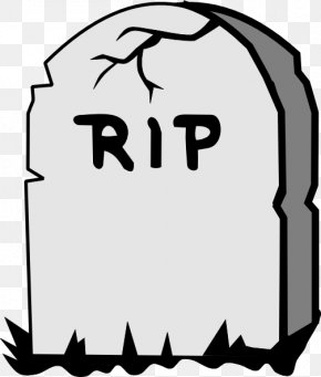 Above Cliparts - Headstone Drawing Cartoon Clip Art PNG