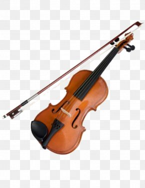 Violin And Bow - Violin Musical Instrument Bow String Instrument PNG