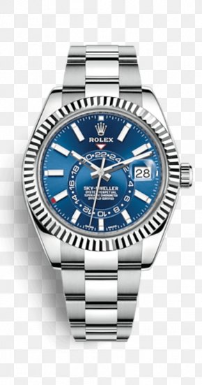 Rolex - Rolex Sea Dweller Rolex Sky-Dweller Steel Watch PNG