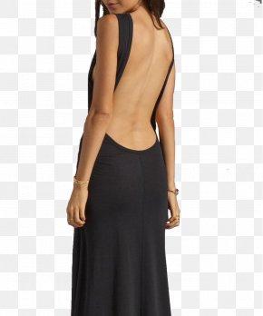 Female Halter Back And Evening Dress - Dress Human Back Formal Wear PNG