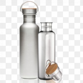 Bottle - Water Bottles Canteen Stainless Steel Metal PNG