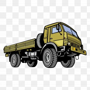 Military Trucks Vector Material - Car Commercial Vehicle Jeep Dodge Truck PNG