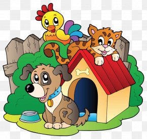 Animal House - Rescue Dog Cat Animal Shelter Clip Art PNG