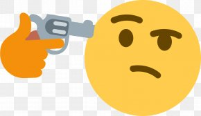 L - Emoji Thought Information Stupidity PNG